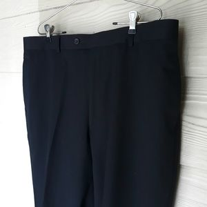 New Pronto Uomo 100% Wool Dress Creased Pants